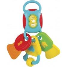 Бебешка музикална играчка WinFun - Ключове -1