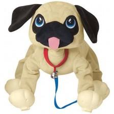 Играчка Peppy Pets - Домашен любимец за разходка, мопс -1