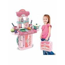 Детска кухня Buba, розова -1