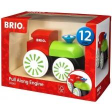 Играчка за дърпане Brio - Влакче -1