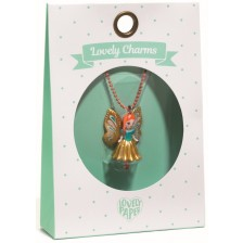 Колие Djeco Lovely Charms -  Butterfly, 3.5 cm -1