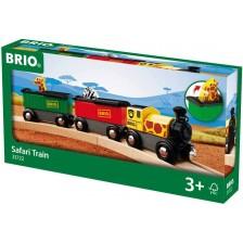 ЖП аксесоар Brio - Влак Safari -1