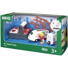 Влак Brio - Пътнически, с дистанционно управление -1