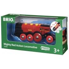 ЖП аксесоар Brio - Локомотив Mighty Red Action -1