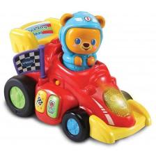 Електронна играчка Vtech - Скоростна светеща количка -1