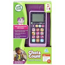 Детска играчка LeapFrog - Смарт телефон, лилав -1