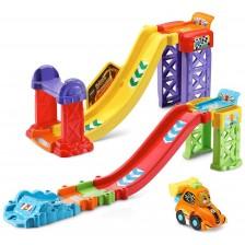 Игрален комплект Vtech Toot-Toot Drivers - Цветна писта -1