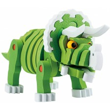 3D пъзел Toi Toys - Трицератопс, 63 части -1