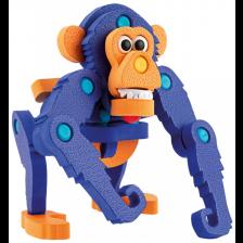 3D Пъзел Toi Toys - Пенокартон, горила, 52 части -1