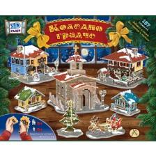 3D Коледно градче