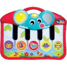 Музикална играчка Playgro 4 в 1 - Пиано, за ръце или крачета -1
