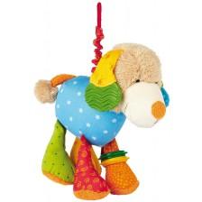 Плюшена играчка с клипс Sigikid - Кученце, 20 cm -1