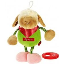 Музикална плюшена играчка Sigikid Musical - Овца, 15 cm -1