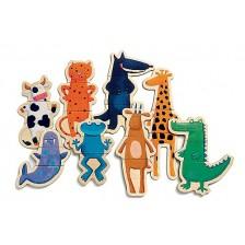 Детска забавна игра Djeco - Щури животни -1
