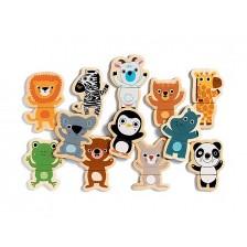 Детска забавна игра Djeco - Весели животни -1