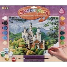 Творчески комплект за рисуване KSG Crafts - Шедьовър, Замъкът Нойшванщайн -1