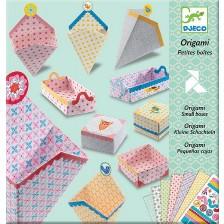 Комплект за оригами Djeco - Малки кутии -1