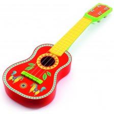 Детски музикален инструмент Djeco - Китара Animambo -1