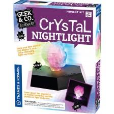 Комплект за експерименти Kosmos Geek & Co - Кристална нощна лампа -1