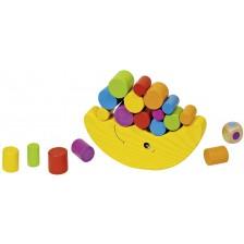 Дървена игра за балансиране Goki - Луна, вид 1 -1