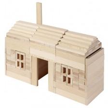 Дървен конструктор Goki Nature - 200 части -1