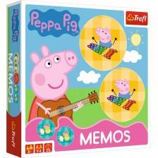 Мемори игра Trefl - Прасенцето Пепа -1