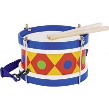 Детски музикален инструмент Goki - Барабан -1