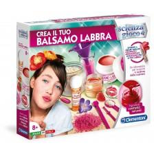 Научен комплект Clementoni Science & Play - Лаборатория за гланц за устни -1