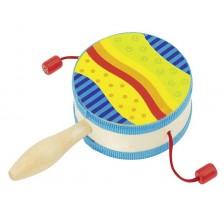 Детски музикален инструмент Goki - Барабанче -1