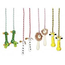 Въже за скачане Goki - Животни, асортимент -1