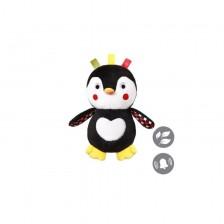 Babyono 640 Плюшено пингвинче дрънкалка C-more -1