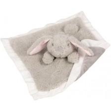 Зайче за гушкане Goki - Бежово, тип одеяло -1