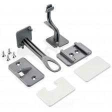 Комплект механизми за заключване Reer Design Line - За шкафове и чекмеджета, 2 броя -1