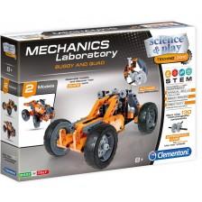 Конструктор Clementoni Mechanics Laboratory - Бъги, 130 части -1