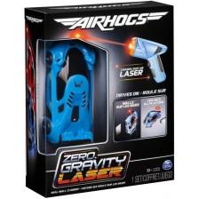Игрален комплект Spin Master Air Hogs - Количка Zero Gravity Laser, синя -1