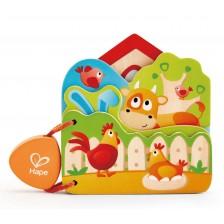 Дървена играчка Hape - Книжка -1
