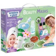 Комплект Clementoni Science & Play - Лаборатория за Маски за лице