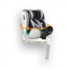 Cangaroo Стол за кола Commodore с Isofix система 360° Тъмно сив