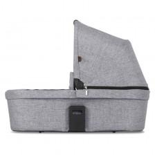 Кош за новородено ABC Design - за Zoom Diamond Edition, Сив -1