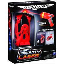 Игрален комплект Spin Master Air Hogs - Количка Zero Gravity Laser, червена -1