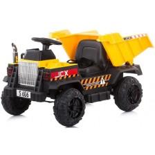 Акумулаторен камион Chipolino - Джъмбо, жълт -1