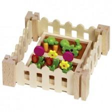 Аксесоари за кукленска къща Goki - Моята малка градина -1