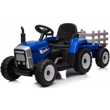 Акумулаторен трактор с ремарке Chipolino - Син -1