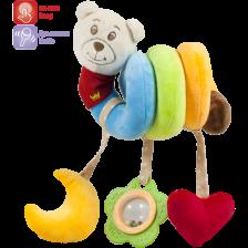 Амек Тойс Бебешка многоцветна спирала Мече -1