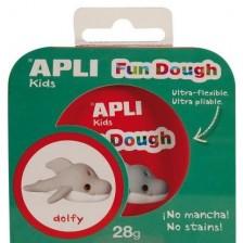Вълшебно тесто APLI Kids за моделиране на делфинче Делфи -1