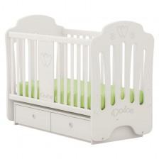 Детско легло-люлка Arbor - Мондо Долче, без колелца -1