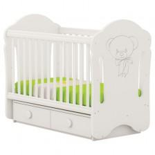 Детско легло-люлка Arbor - Мондо, без колелца -1
