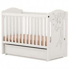 Детско легло-люлка Arbor - Петит Жираф, без колелца -1