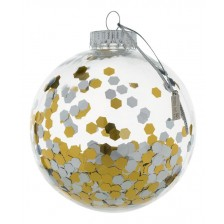 Коледна топка Baby Art, прозрачна -1