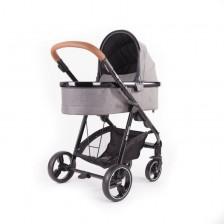 Твърд кош за бебешка количка Baby Monsters - Fresh 3.0 Texas, сив -1
